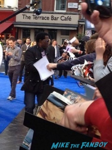 wesley snipes X-Men: Days of Future Past UK premiere blue carpet michael Fassbender   11