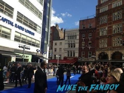 X-Men: Days of Future Past UK premiere blue carpet michael Fassbender   2