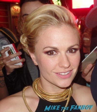 anna paquin selfie fan photo signing Autographs rare 1