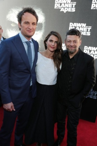 Jason Clarke, Keri Russell, Andy Serkis