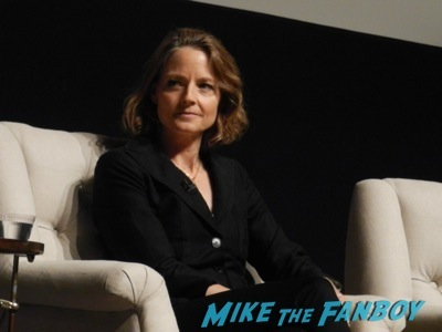 jodie foster signing autographs Netflix Women Ruling TV Q And A   23