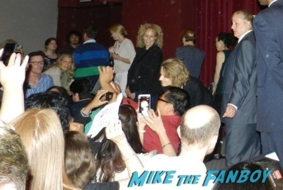 jodie foster signing autographs Netflix Women Ruling TV Q And A   31