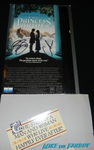princess bride counter standee signed autograph