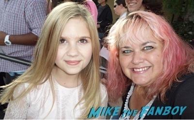 kyla kennedy 2014 saturn awards fan photo