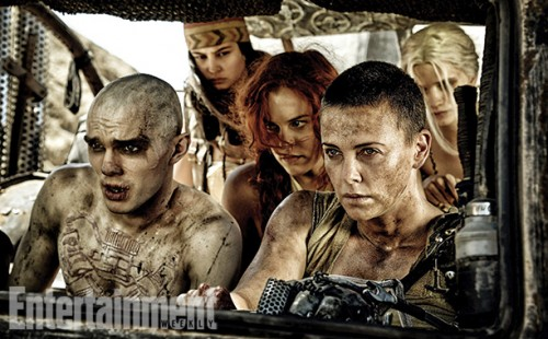 mad max fury road press still tom hardy charlize theron