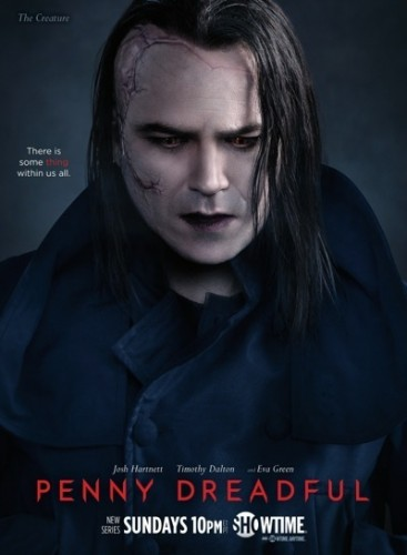 penny dreadful the creature promo poster individual showtime   3