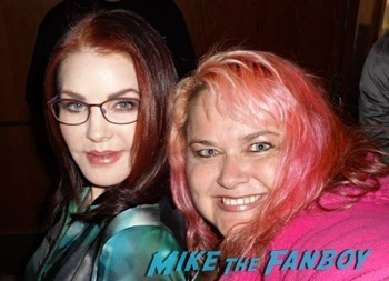 priscilla presley fan photo selfie now 2014 2