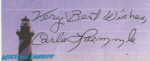 Carla Laemmle Autograph In Person