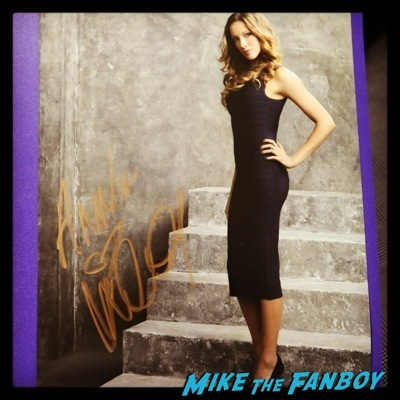 Katie Cassidy signed autograph photo syndey supernova 2014 rose mcgowan cast of arrow   6