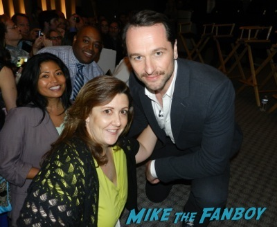 matthew rhys signing autographs selfie fan photo the Americans TV Academy q and a matthew rhys keri russell    53