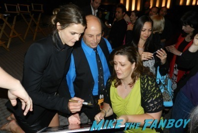 keri russell signing autographs the Americans TV Academy q and a matthew rhys keri russell 54