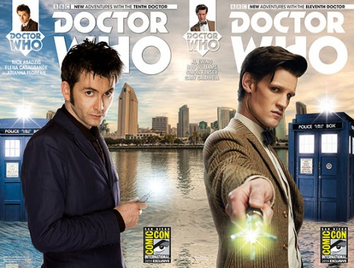 dr. who sdcc varient cover