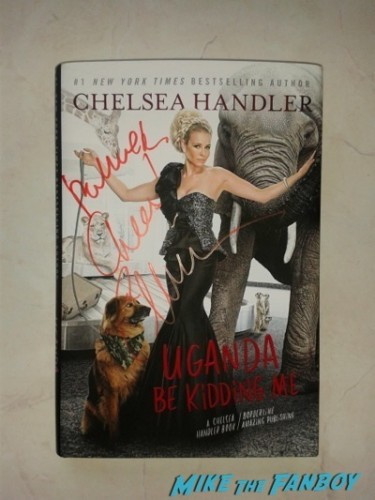 Chelsea Handler Signing Autographs fan photo rare   5