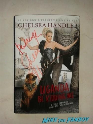 Chelsea Handler Signing Autographs fan photo rare   5