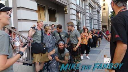 Outlander modern highlanders entertain the crowd