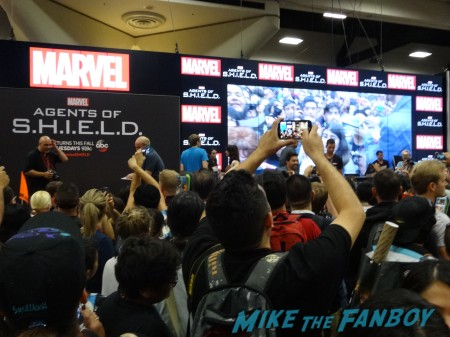 Marvel's Agents of SHIELD cast signing