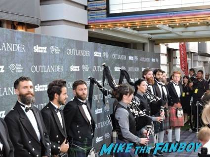 Bagpipers and Kilted Men kick off the Tartan Carpet