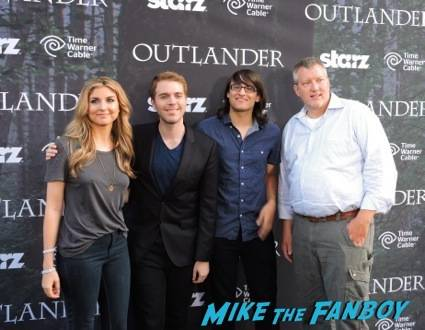 "Anna Martemucci (Director), Shane Dawson (Director), Drew Monson (Actor) and Chris Moore (Executive Producer) from upcoming Starz show ""The Chair"""