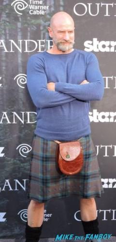 Graham McTavish (Dougal MacKenzie) giving us his imposing stare