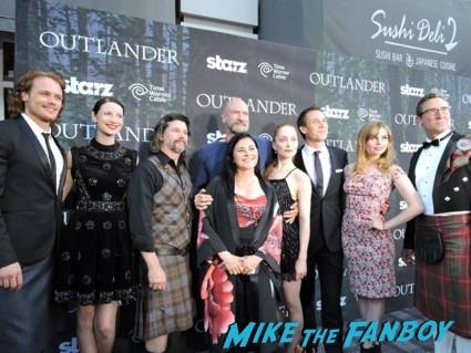 The Cast, Author Diana Gabaldon and Exec Producer Ron Moore