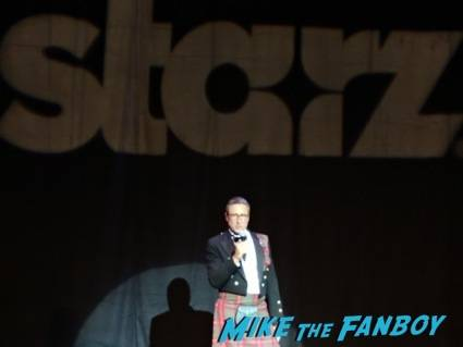 Carmi Zlotnik, Managing Director of Starz, kicks off the festivities