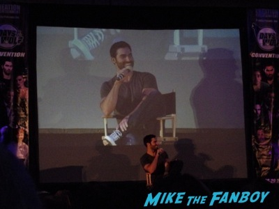 days of the wolf con teen wolf tyler hoechlin autograph signed