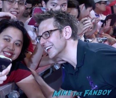 Guardians of the galaxy singapore fan event zoe saldana dave Bautista signing autographs    12