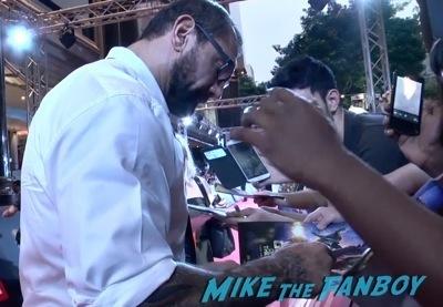 Guardians of the galaxy singapore fan event zoe saldana dave Bautista signing autographs    3