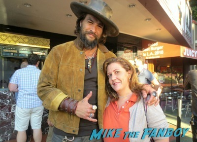 Jason Momoa the road to paloma q and a fan photo selfie meet and greet hot 1