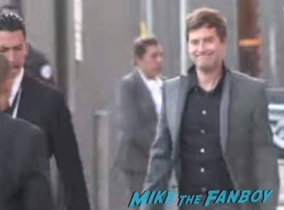 Mark duplass ignoring fans jimmy kimmel live 2014 2