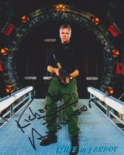 richard dean anderson signed autograph Melbourne Oz Comic Con jason dohring fan photo shawn ashmore  10