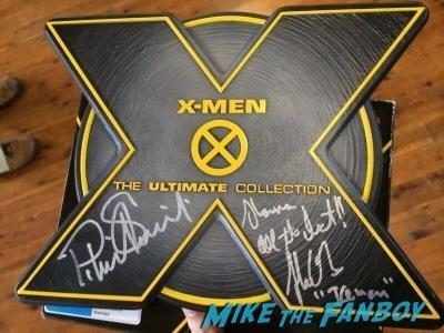 shawn ashmore signed x men box set Melbourne Oz Comic Con jason dohring fan photo shawn ashmore  3