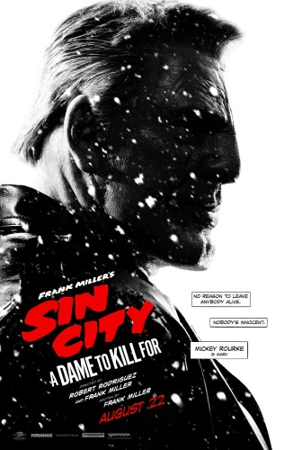 Sin City A Dame To Kill For Posters comic con