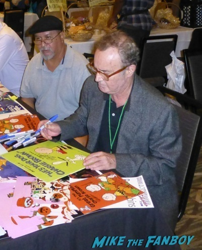 Peter Robbins Tommy Kirk fan photo signing autographs hollywood show now 2014   2