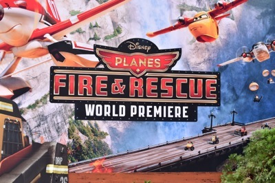 "World Premiere Of Disney's ""Planes: Fire & Rescue"" - Red Carpet"