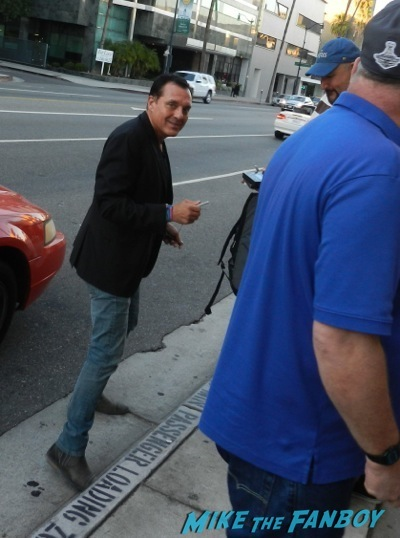 Private Number movie premiere tom sizemore signing autographs 2