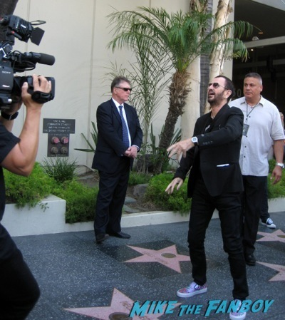 Ringo Starr's birthday Party capital records    4