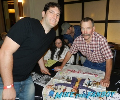 peter ostrum The wonka kids now 2014 hollywood show signing autographs kelly lebrock  11