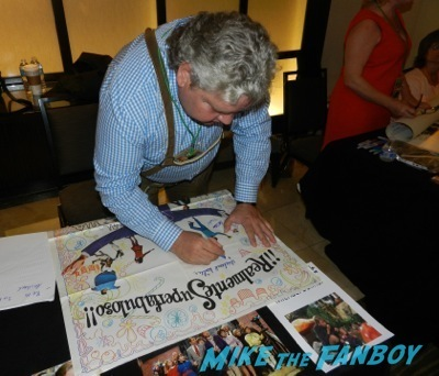 Michael Bollner The wonka kids now 2014 hollywood show signing autographs kelly lebrock  12