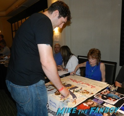 Denise Nickerson  The wonka kids now 2014 hollywood show signing autographs kelly lebrock  15