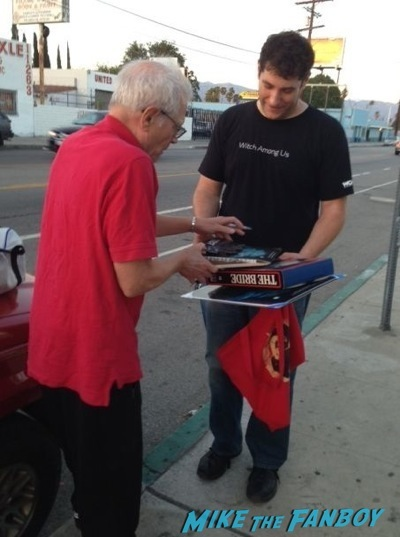 Tom Holland signing autographs fright night director now 2014 14
