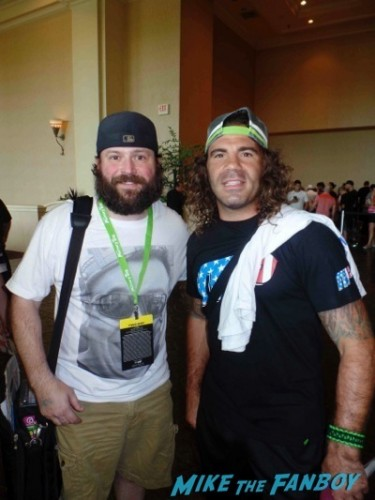 Clay Guida  UFC Fan Expo Day 1 autograph signing photos rare     2