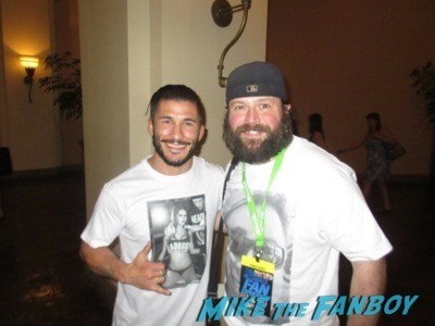 UFC Fan Expo Amazement! Billy Meets Cain Velasquez! Rashad Evans! Anthony Pettis! Octagon Girls! And More!