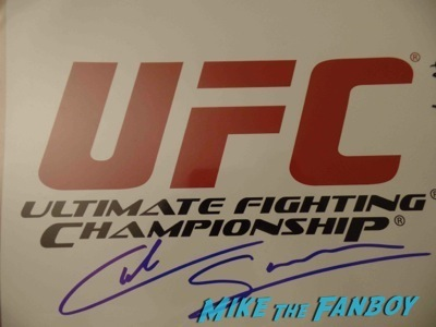 cub swanson UFC Fan Expo Day 2 signing autographs octagon girls hot    11