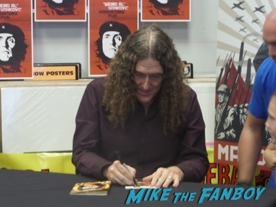 Weird Al Yankovic amoeba music cd signing autograph  6