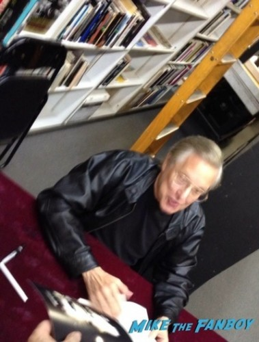 William Friedkin book signing meaness yelling f-bombs autograph  1