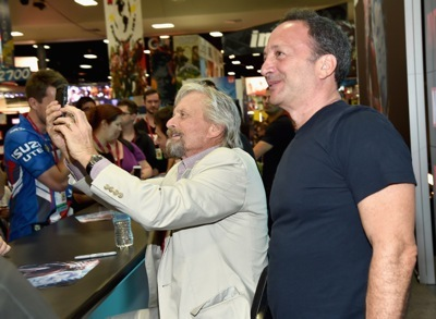 """Marvel's """"Ant-Man"""" Booth Signing During Comic-Con International 2014"""