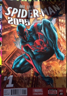 spider man 2099 cover