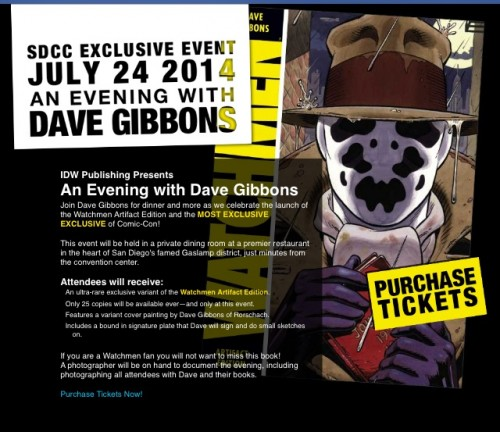 dave gibbons sdcc event