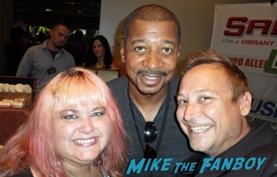 robert townsend fan photo selfie signing autographs now 2014 1